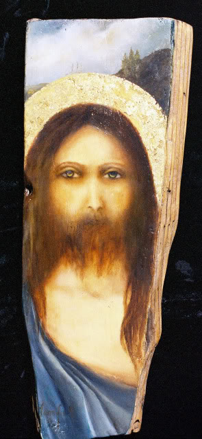 jesus-distressed-wood-icon