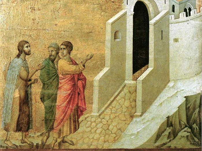 Emmaus Duccio
