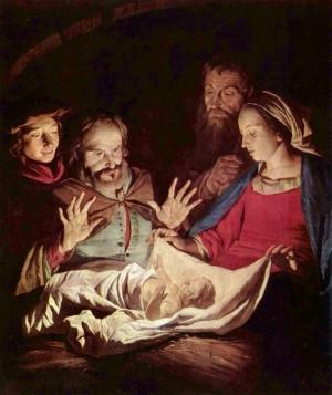 Piav txog lub Koom Txoos rau cov me nyuam yaus Jesus_nativity