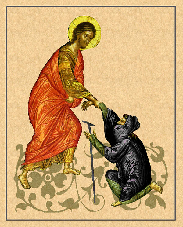 ...venne da Gesù un lebbroso dans immagini sacre