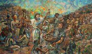 Christ Feeding 5000