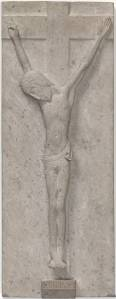 Crucifix circa 1913 by Eric Gill 1882-1940