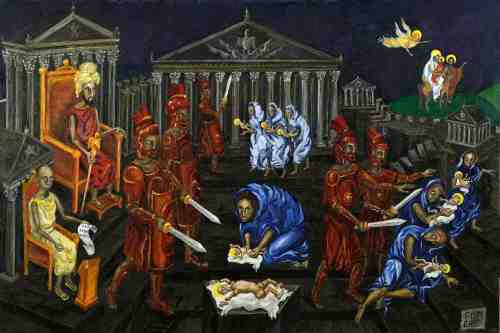 Massacre Holy Innocents, Pismenny