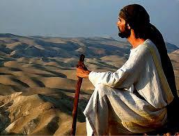 jesus in desert