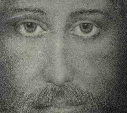 Pointillist Jesus