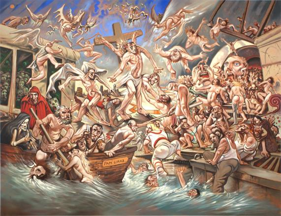 Hades I Peter Howson