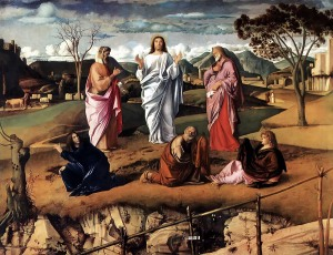 The Transfiguration of Christ Giovanni Bellini, c. 1487