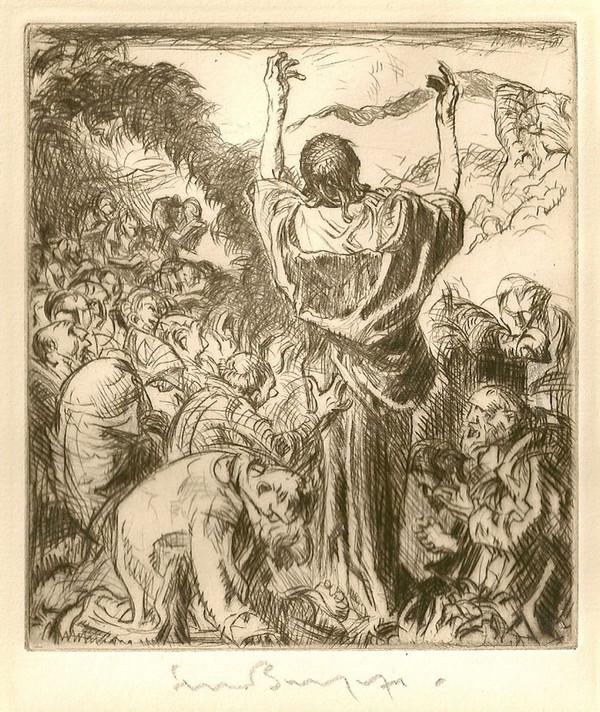 Frank Brangwyn Sermon on the Mount