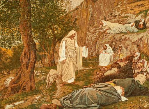 Jesus Commanding his Disciples to Rest
